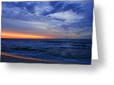 Good Morning - Jersey Shore Greeting Card