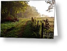 Good Morning Cades Cove II Greeting Card