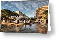 Good Morning Charleston Greeting Card