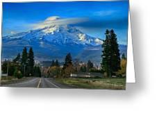 Good Morning Mount Hood Greeting Card