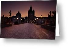 Good Morning Prague  Greeting Card