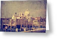 Good Morning Venice Greeting Card