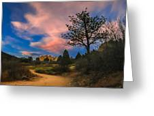 Good Night God's Garden 2 Greeting Card