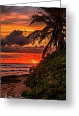Good Night Hawaii Greeting Card