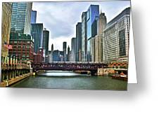 Good Old Chicago Greeting Card