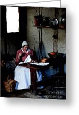 Good Pilgrim Wife Greeting Card