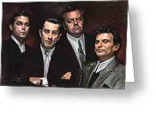 Goodfellas Greeting Card