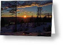 Goodnight Montana Greeting Card