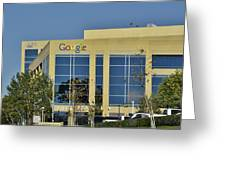 Google Orange County Greeting Card