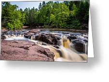 Goose Berry River Rapids Greeting Card