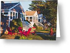 Goose Creek Beach Cottages Greeting Card