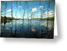 Goose Pond Reflection Greeting Card
