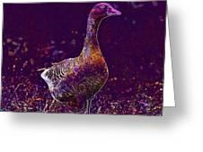 Goose Village Household Farm  Greeting Card