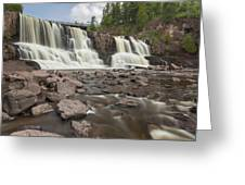 Gooseberry Middle Falls 24 Greeting Card