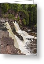 Gooseberry Middle Falls 26 Greeting Card