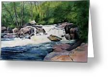Gooseberry River Greeting Card