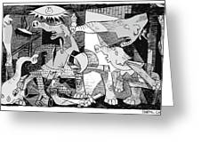 Gop Guernica Greeting Card