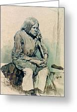 Gorbun2 1881 Ilya Repin Greeting Card