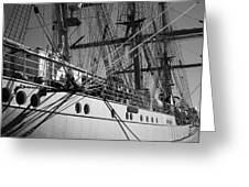Gorch Fock ... Greeting Card