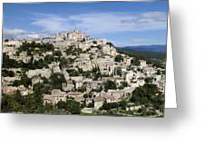 Gordes Provence France Greeting Card