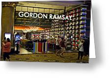 Gordon Ramsay Greeting Card