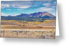 Gore Range Ranch Greeting Card