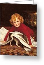 Gore William Henry Playmates William Henry Gore Greeting Card