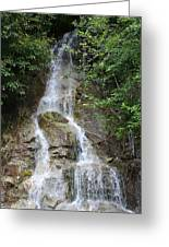 Gorge Creek Falls - North Cascades National Park Wa Greeting Card by Christine Till