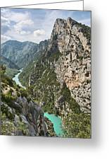 Gorge Du Verdon Greeting Card