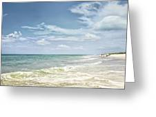 Gorgeous Day At The Seashore Greeting Card