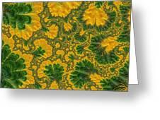 Gorgeous Fabric Design - Series Number Ten Greeting Card