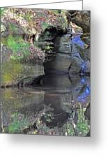 Gorgeous Reflections Vertical Greeting Card