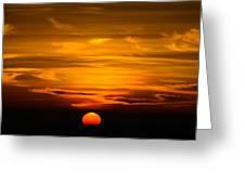Gorgeous Sunset Greeting Card