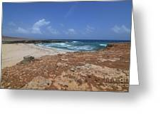 Gorgeous View Of Deserted Daimari Beach Greeting Card