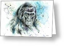 Gorila2 Greeting Card
