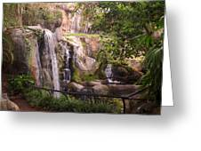 Gorilla Falls Greeting Card