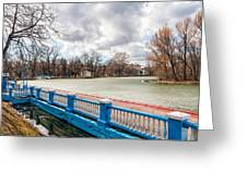 Gorky Park In Winter Greeting Card
