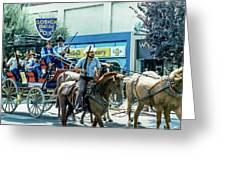 Goshen Parade 1980-3 Greeting Card