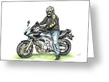 Got To Ride Greeting Card