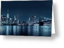 Gotham City Skyline Greeting Card