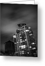 Gotham Rooftop Greeting Card