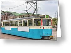 Gothenburg Tram Car Greeting Card