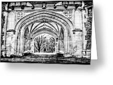 Gothic Architecture At Princeton University  Princeton New Jersey Greeting Card