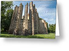 Gothic Cathedral Of Our Lady Greeting Card