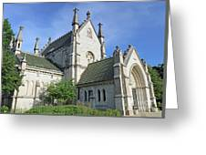 Gothic Chapel, Indianapolis, Indiana Greeting Card