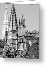 Gothic Detail  Greeting Card