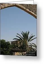 Gothic Gate Cyprus Greeting Card