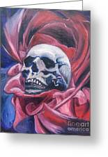 Gothic Romance Greeting Card by Isabella F Abbie Shores FRSA