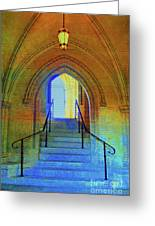 Gothic Steps Greeting Card