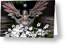 Gothick Fairy Greeting Card